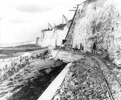 1930s seawall looking west