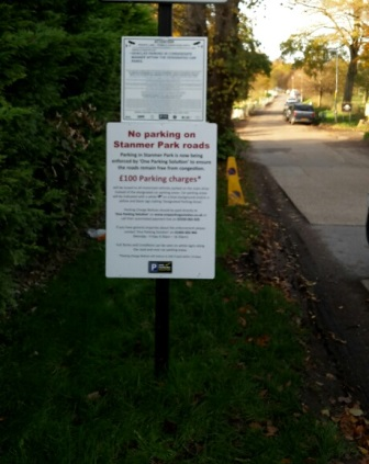 Stanmer Park parking
