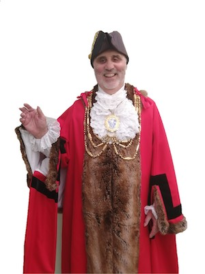 Alan Robins - Mayor of Brighton & Hove