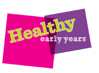 Healthy early years graphic