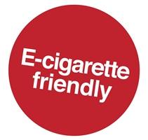 e-cigarette friendly