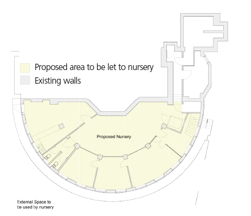 Hove Library lower ground floor plans