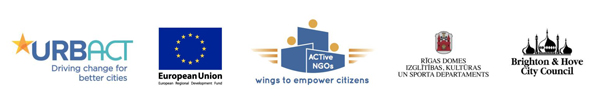 ACTive NGOs East-Brighton project logos