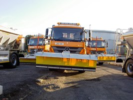 Gritters at the ready