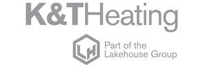 K & T Heating logo
