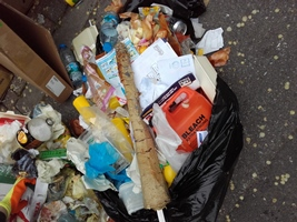 Kebab Shop waste