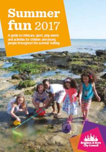 Guide to activities for children and young people in Brighton & Hove during summer 2017