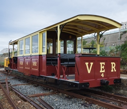 Volk's railway carriage