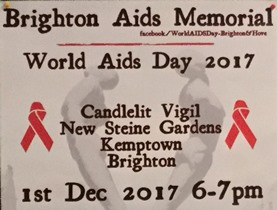 World Aids Day 2017 - Brighton event