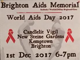 World Aids Day 2017 - Brighton event