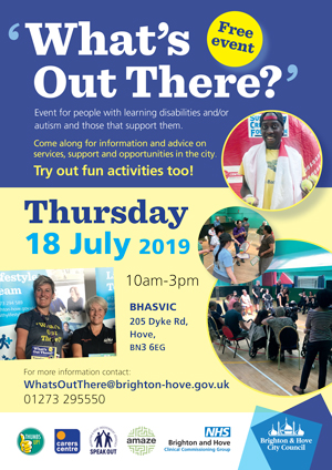 What's Out There event poster
