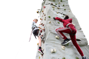Climbing at the TAKEPART Festival