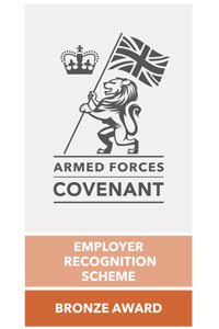 Armed Forces Covenant Employer Recognition Bronze Award