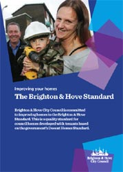 Brighton & Hove Standard leaflet cover