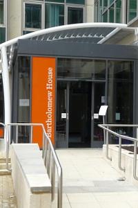 new accessible entrance to Bartholomew House
