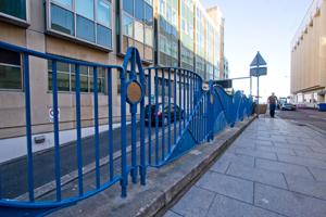 Black Lion Street railings