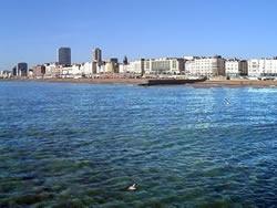 Brighton from the sea