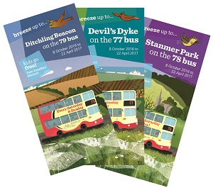 Bus leaflets