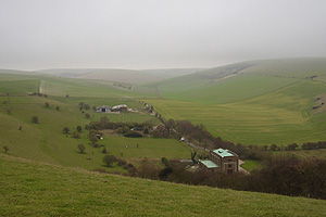 Castle Hill from High Hill