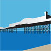 small icon of the pier and beach