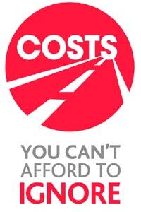 Costs road saftey logo
