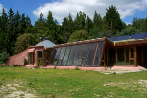 Stanmer Organics earthship