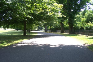 Hove Park walkway