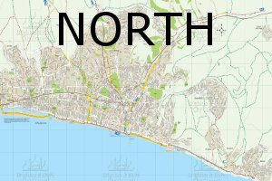 North walks map
