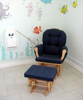 the Western Esplanade nursing room