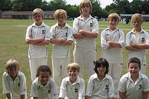 Palmers Cricket Club group photo