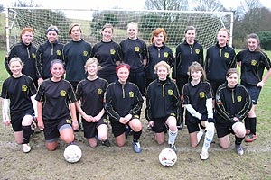 Patcham United Under 16 Girls Football Club group photo