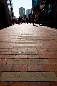 Paving Stone Poem, Write Around Air Street