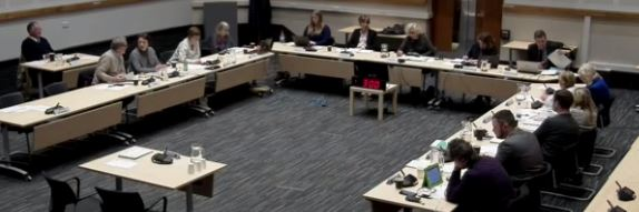 councillors sitting in planning committee