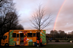 playbus at the end of the rainbow