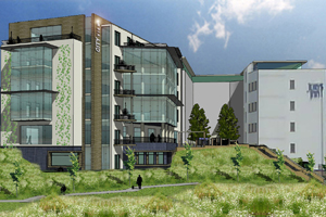 Artist's impression of proposed offices
