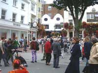 popular busker site in the lanes