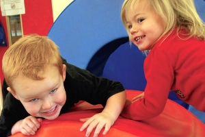 Soft play at a children's centre