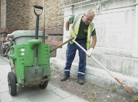 small image of a street being swept