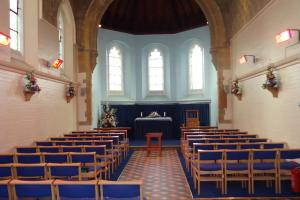 Inside Hove Chapel