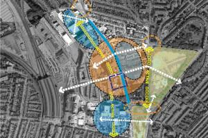 London Road masterplan map