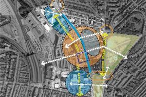 London Road masterplan map