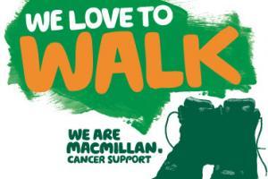 Macmillan walk logo