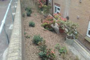 Penhurst place garden after work