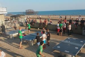 Ping! table tennis in Brighton