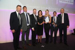 Transport team wins award