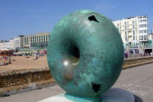 Donut Sculpture
