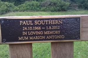 Woodvale Bench Plaque