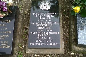 Woodvale lawn grave