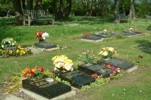 Woodvale lawn graves
