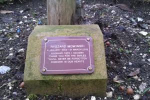 Woo tree plaque